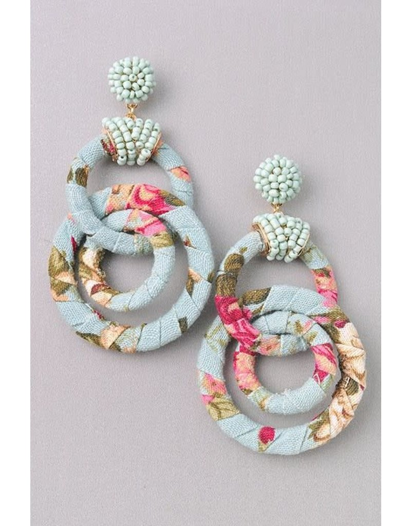 Flower Tangled Hoops