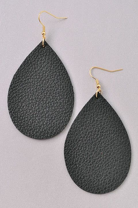 f28773abd What are you looking for. Search. Home » Basic Teardrop Leather Earring