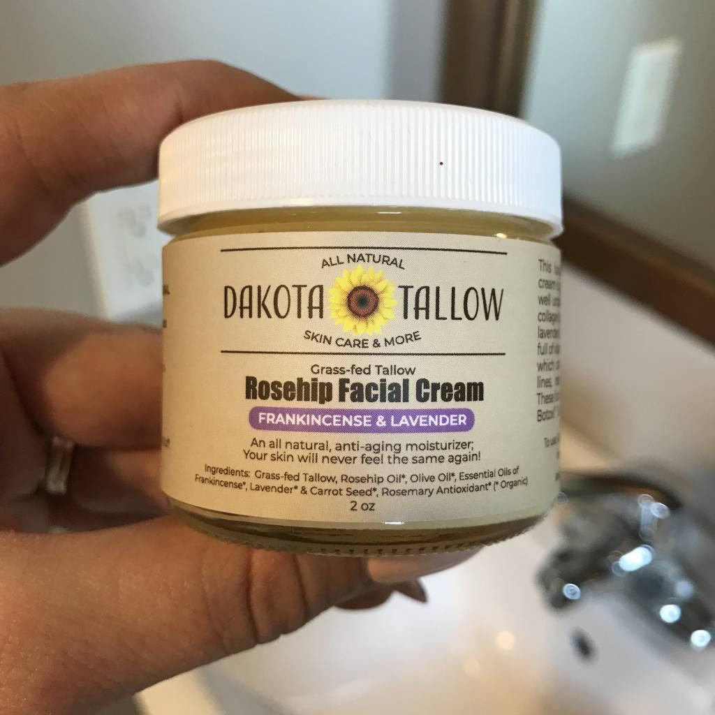 Frankincense & Lavender Rosehip Facial Cream