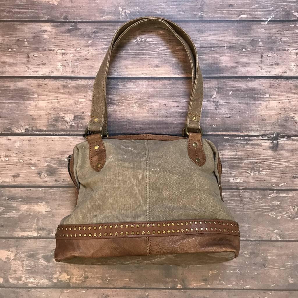 Mona B Greystone Handbag