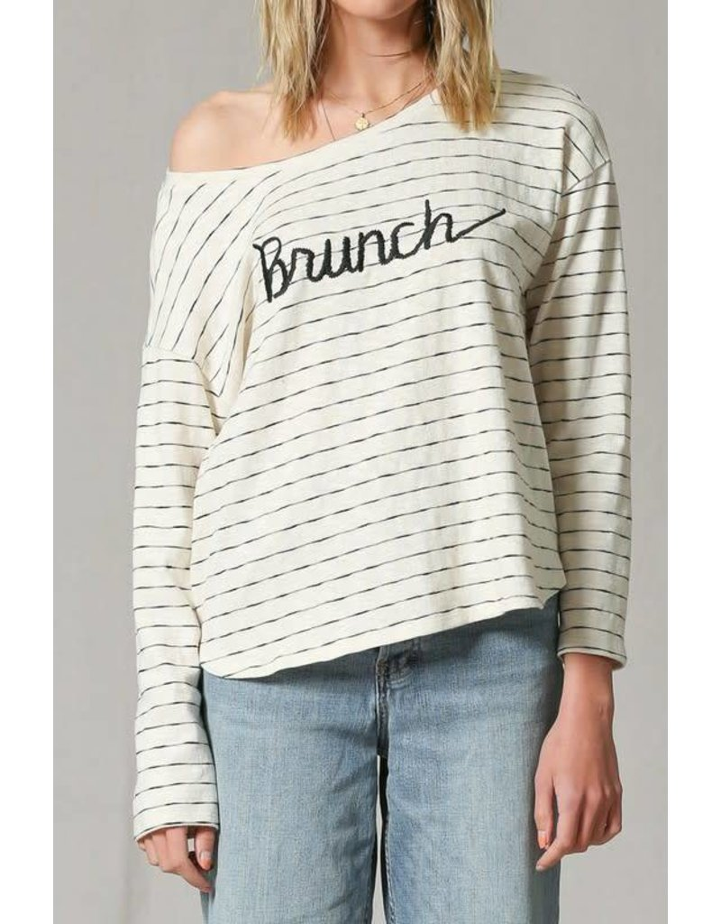 Brunch Striped Long Sleeve