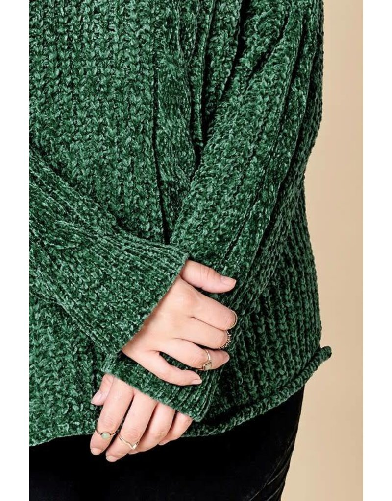 Chunky Oversized Cable Knit Sweater