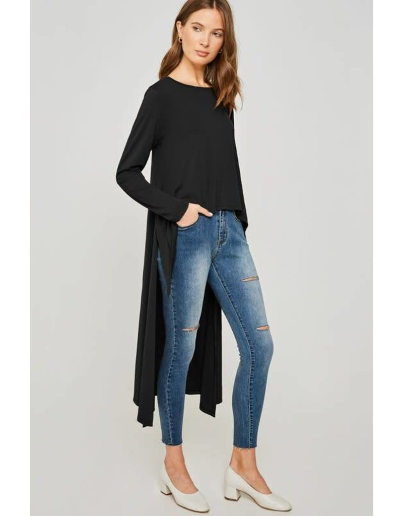 Long Sleeve High-Low Top