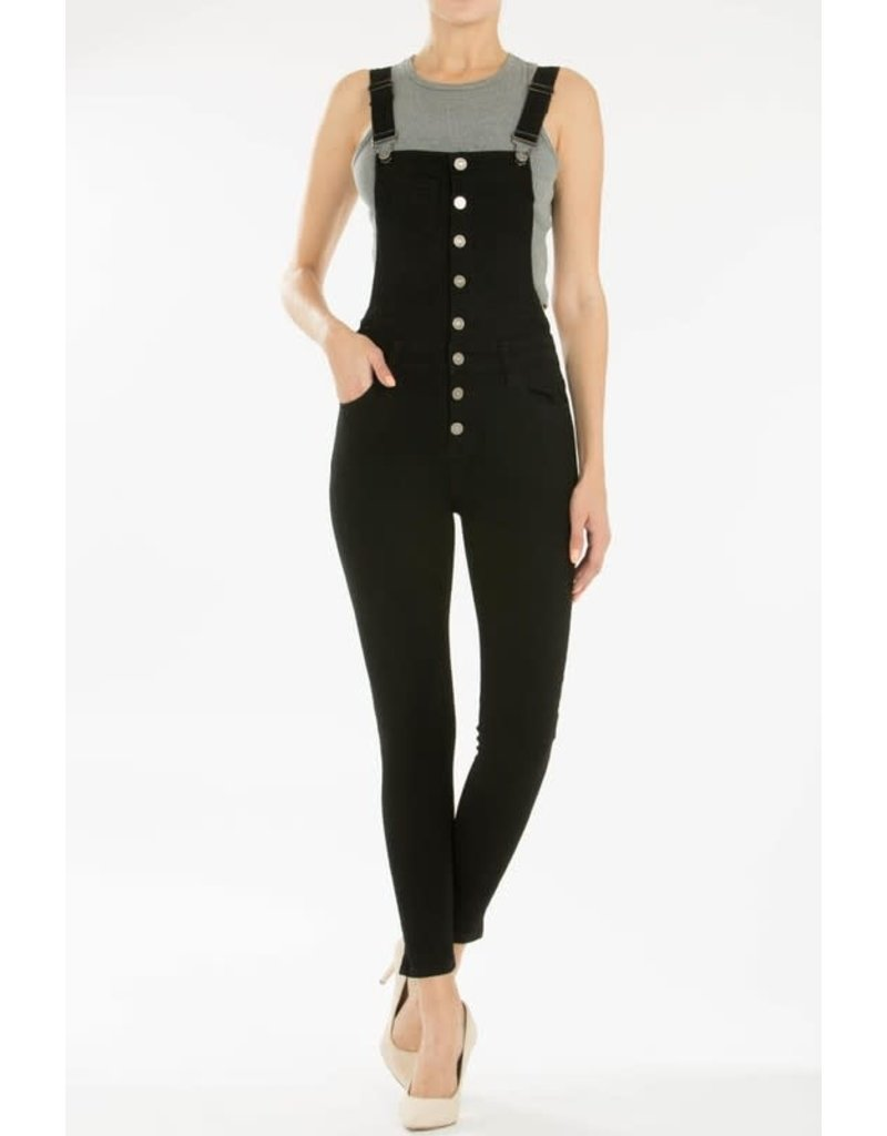 KanCan Overall Ankle Skinny