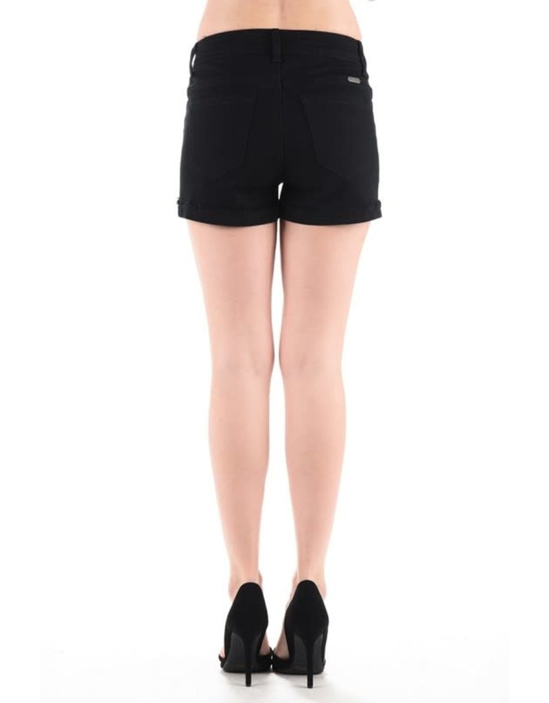 KanCan Slight Distress Shorts