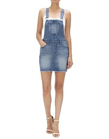 KanCan Denim Overall Skirt