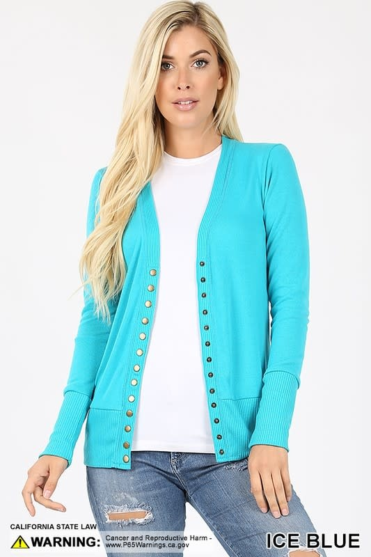 Snap Cardigans 3 Full Sleeve