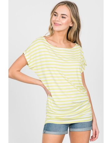 Modal Stripe Top