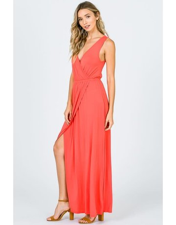 Sleevless Maxi Dress