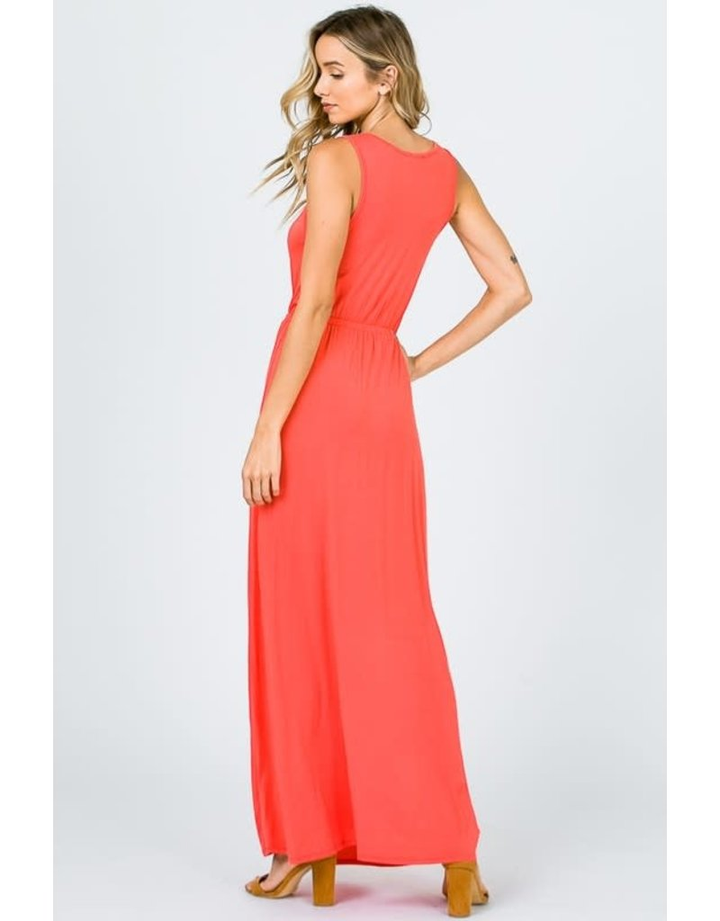 Sleevless Maxi Dress