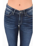 Mid Rise Classic Ankle Skinny