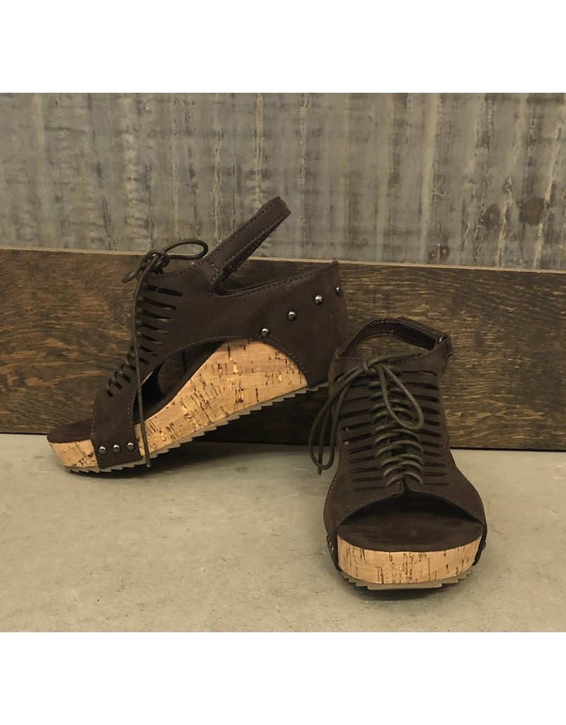 Giselle Tie Up Wedge