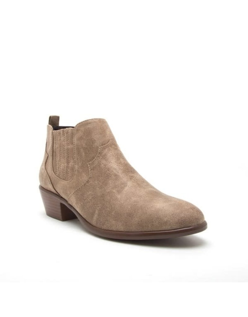 Western Stitched Ankle Bootie