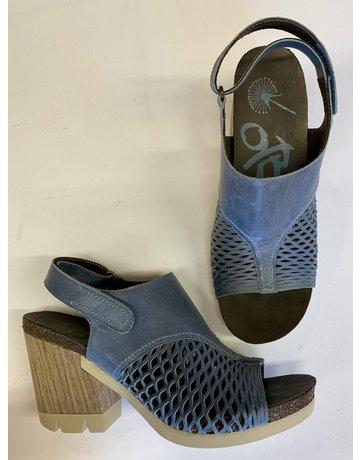 OTBT Blue Cutout Detail Heels