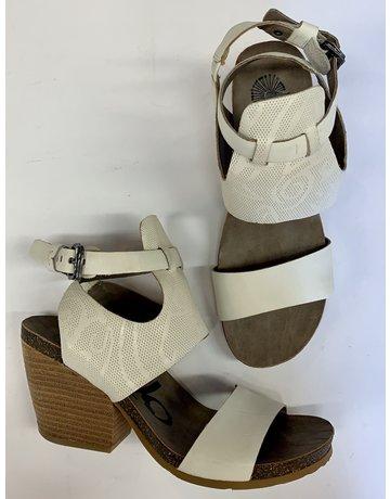 OTBT White Lace Detail Heels