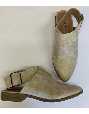 Strap Back Loafers