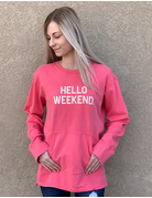 Hello Weekend Pullover Sweater