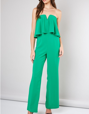 Strapless Statement Jumpsuit