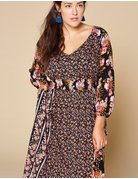 Light Floral Maxi Dress