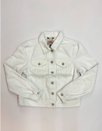 White Classic Denim Jacket