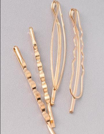 Four Piece Hair Pin Set