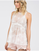 Full Lace Baby Doll Tank