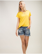 Basic Criss Cross V-Neck Tee