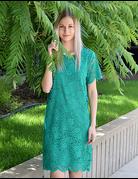 Flower Lace Woven Dress