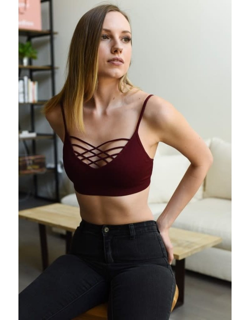 Simple Strappy Front Bralette