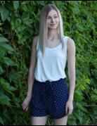 Polka Dotted Shorts