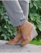Celine Tie Wedged Heel