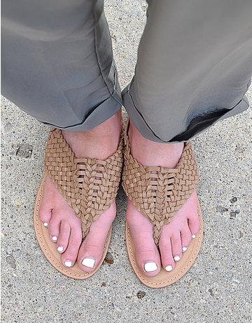 Braided Flat Sandal