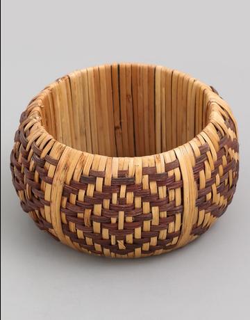 Woven Tribal Bangle Bracelet