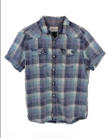Dowelltown SS Western Shirt