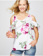 Stay Together Cold Shoulder Top