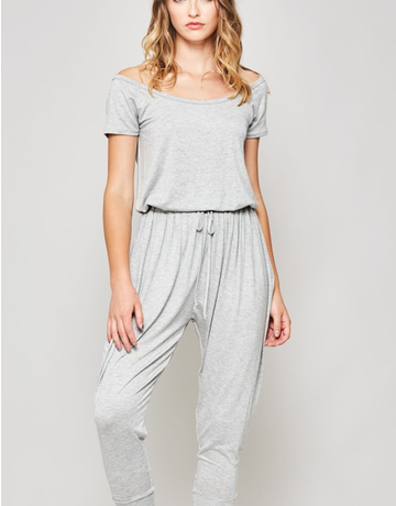 Cropped Slouchy Jumpsuit