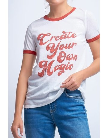 12 PM 'Create your own magic' graphic tee