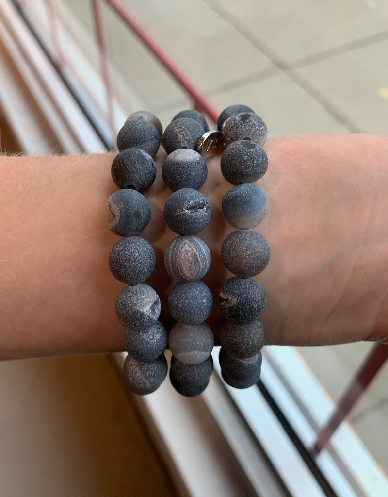 OMI Apple Watch Band - Grey Marble