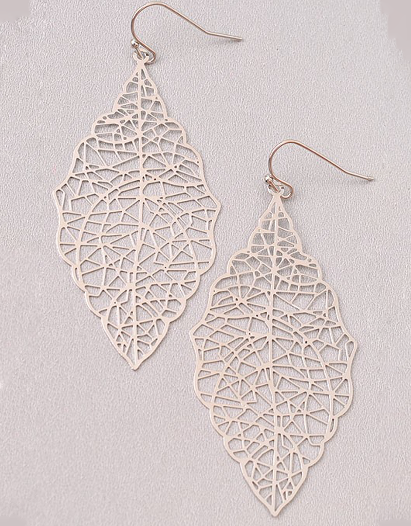 Leafy Lines Earrings