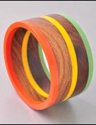 Stoplight Wood Bracelet