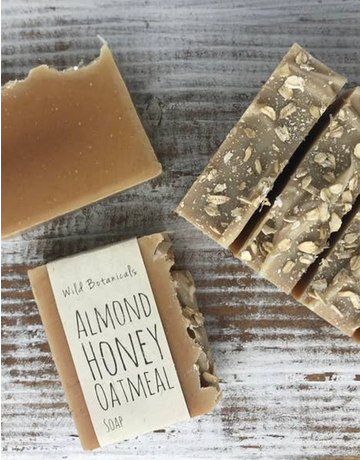 Almond Honey Oat Soap