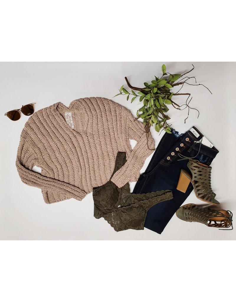 Daya Deep V Sweater