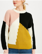 Multi-Color Round Neck Sweater