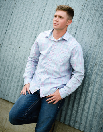 Haynesville Plaid Button Up