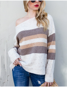 Soft Style Striped Sweater