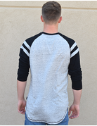Shoulder Striped Long Sleeve