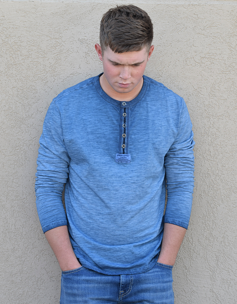 Button Up Washed Long Sleeve