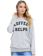 Coffee Helps Graphic Top