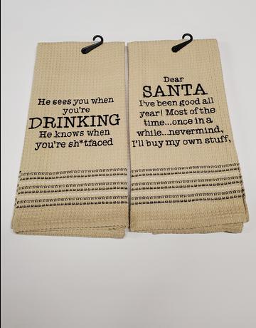 Seasonal Dish Towel