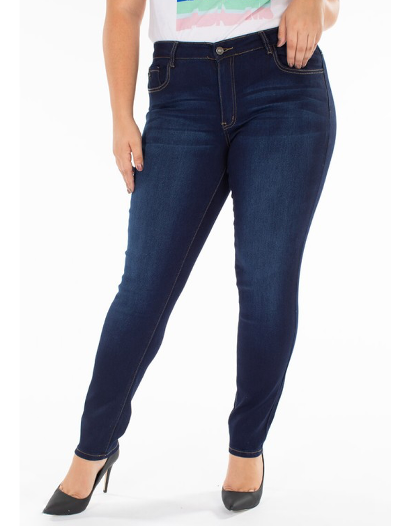 Curvy Zero Distress Jean